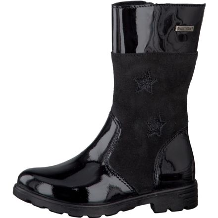 Ricosta HANNAH Waterproof Leather Boots (Black)